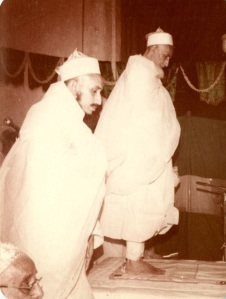Syedna Mohammed Burhannudin and Syedna Khuzaima Qutbuddin